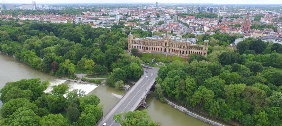 Foto des Bayerischen Landtages in München