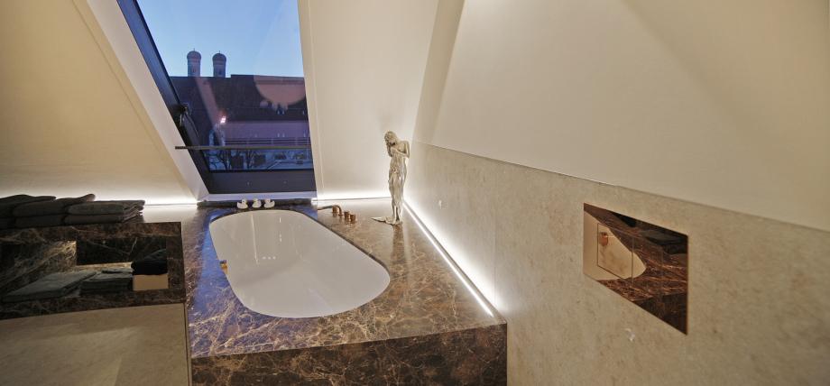 Ansicht eines Badezimmers in München